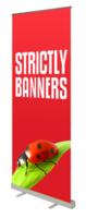 Economy Roll Up Banner 850mm wide