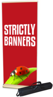 Deluxe Roll up Banner 850mm wide