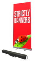 Premium Roll Up Banner 1m wide