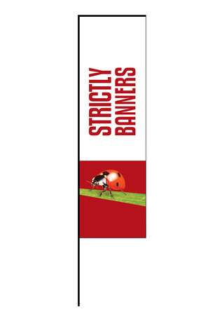 Swing Arm Flag - Medium